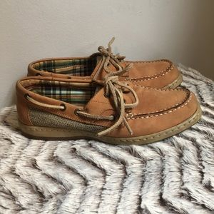 💕White Mountain Sailor Tan Seaside Boat Shoes